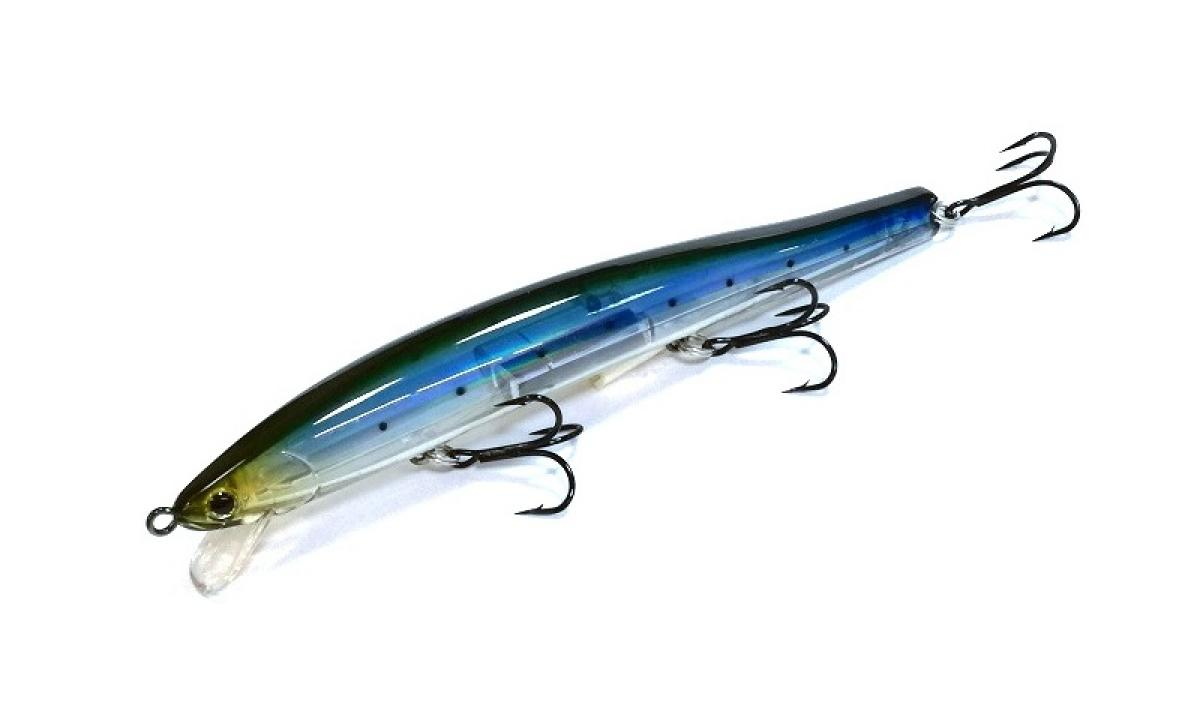 Воблер Lucky Craft Flash Minnow Yaware 125F Laser Ghost Sardine 987