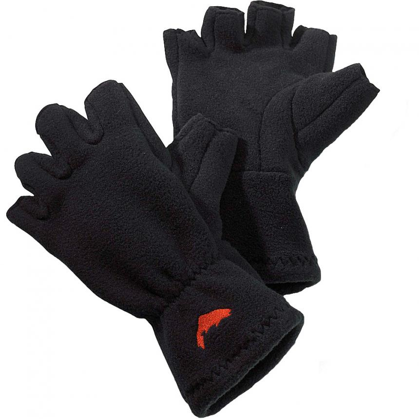 Перчатки Simms Freestone Half-Finger Glove L Black