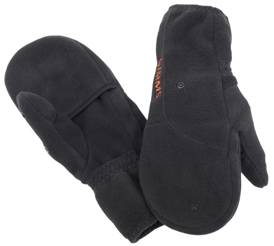 Варежки Simms Headwaters Foldover Mitt S Black
