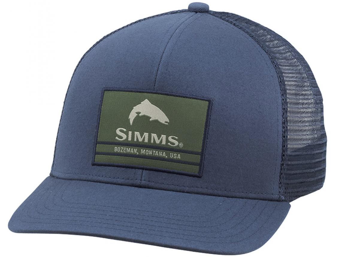 Кепка Simms Original Patch Trucker Dark Moon