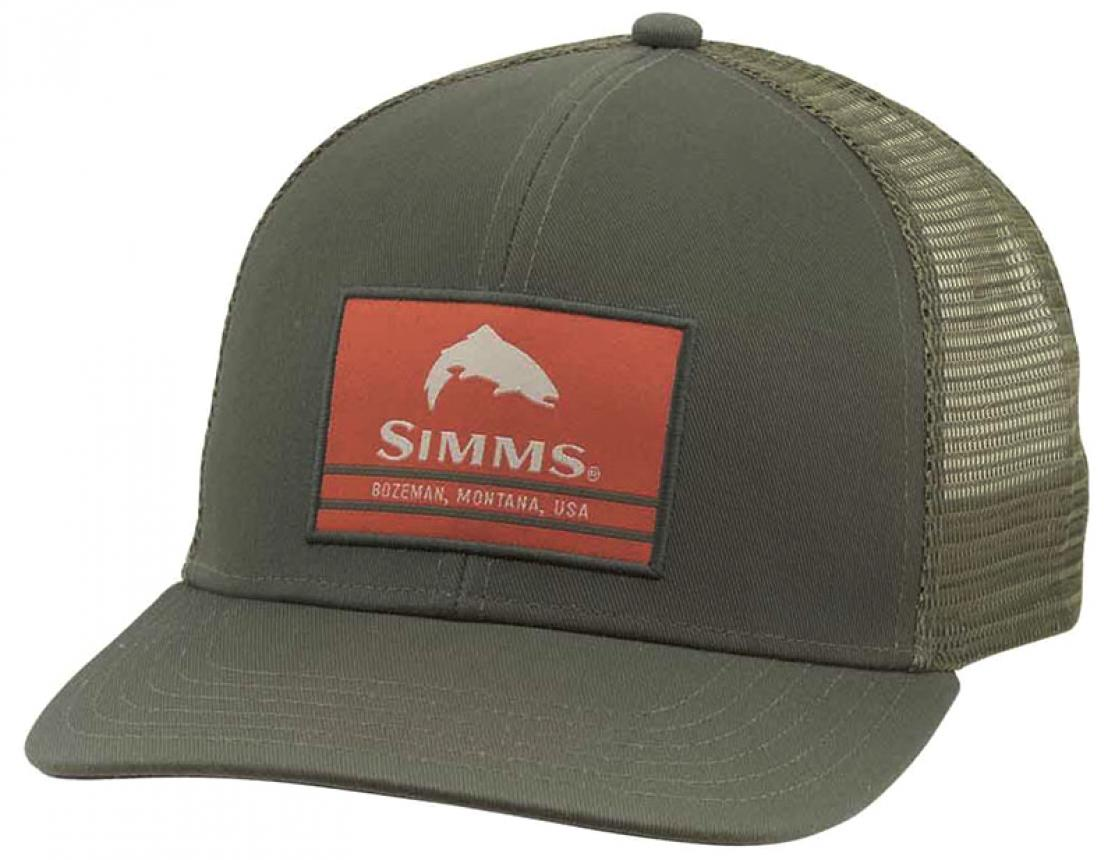 Кепка Simms Original Patch Trucker Foliage