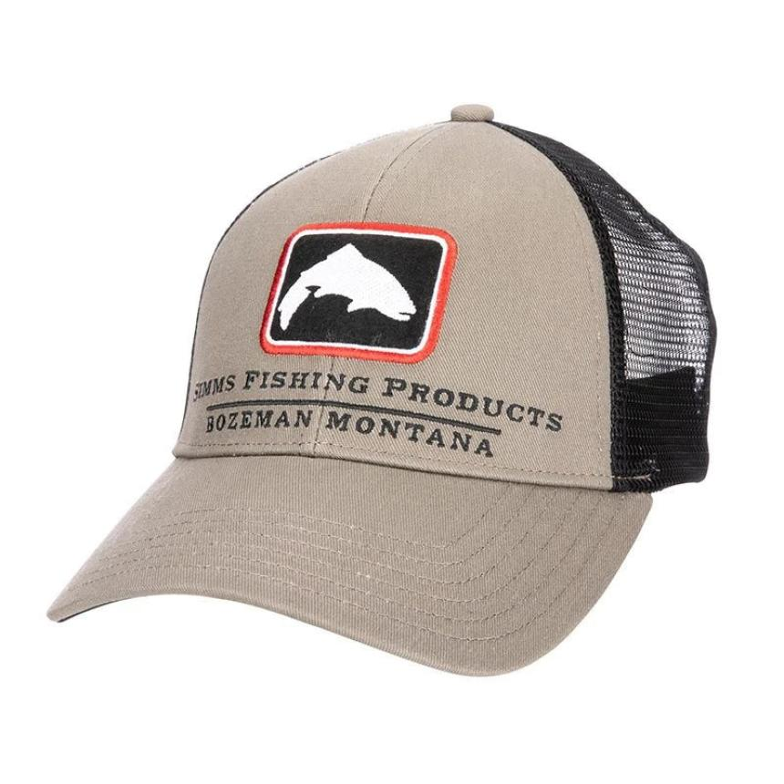 Кепка Simms Trout Icon Trucker Tan